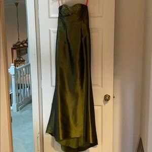 Flirt by Maggie Sottero Emerald Green Dress